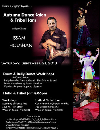 9-21-13 Autumn Dance Salon