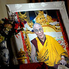 A photograph of the Dalai Lama at the Tibetan Center in St. Paul on Sunday, Feb., 23, 2014. (Pioneer Press: Sherri LaRose-Chiglo)