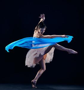 Feb. 22, 2019 - New York, NY  Dancer The Balletrina (Kat Rodriguez) in studio  Photographer- Robert Altman Post-production- Robert Altman
