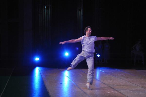 Nutcracker - Rehearsals, Darwin Entertainment Centre 2009