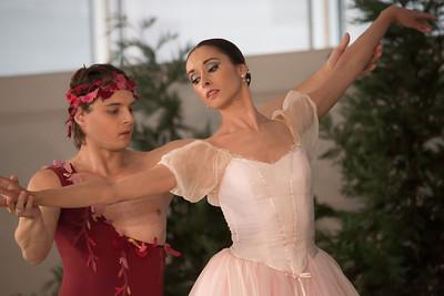 Dancers: Maria Allash and Anton Korsakov Le Spectre de la rose