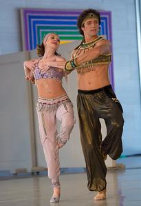 Dancers: Anna Antonicheva and Danila Korsuntsev Adagio from Scheherazade