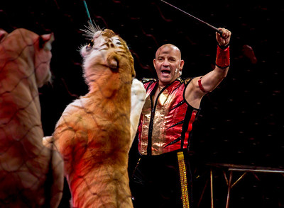 "The Ringling Bros. and Barnum & Bailey Circus presented ""Fully Charged"" at the Verizon Center in Washington DC with shows on March 15-18, 2012."