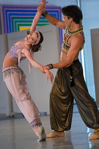 National Gallery of Art presents Stars of Russian Ballet (July 21, 2013) Dancers: Anna Antonicheva and Danila Korsuntsev Adagio from Scheherazade
