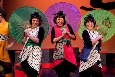 Washington Savoyards Production of the Mikado
