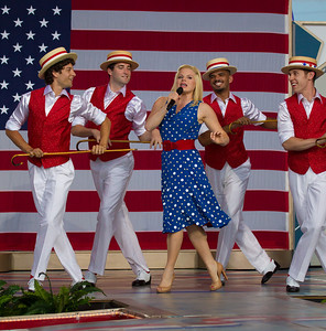 "PBS ""Capitol Fourth"" 2012 Concert - Megan Hilty stars in NBC's musical drama ""Smash"""
