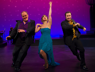 "Washington Savoyards Production of ""Its a Grand Night for Singing""  (Scott Russell, Emily Levey and Nick Lehan)"
