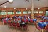 Hall prepared for the Saturday banquet, Ti Ti Tabor 2007