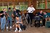 Video set-up time (just part of the crew), Saturday, Ti Tabor 2007: Todd, Doug, Wayne, Robin, Tom, Rex, Ed