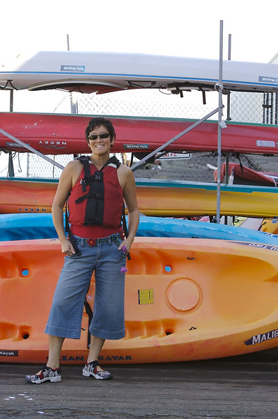 Sue and I are going kayaking!
