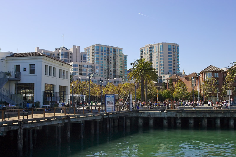 Another view from the pier