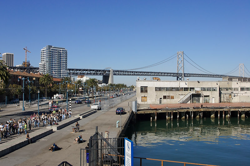 Sea Wall was performed overlooking the Oakland Bay Bridge and AT&T Park!