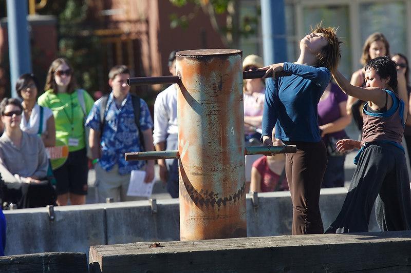 More pylon dancing