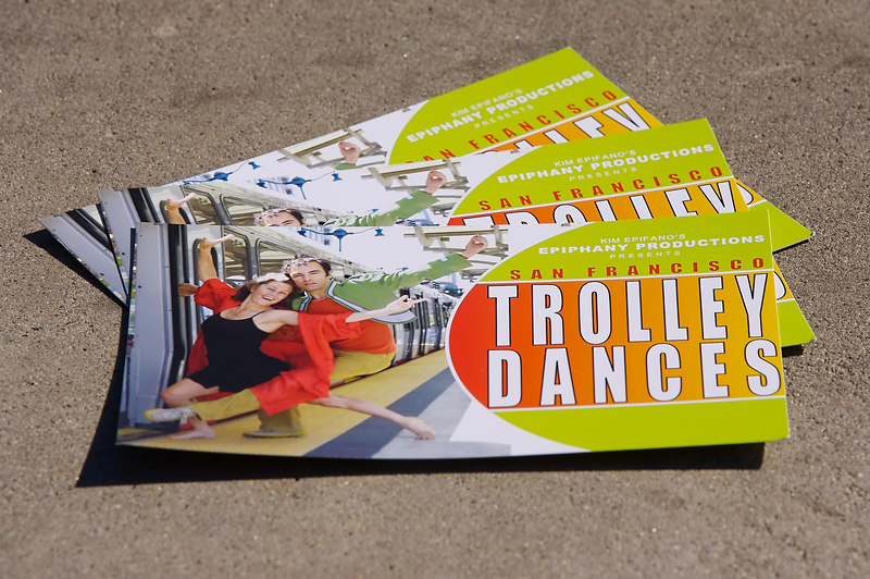 More Trolley Dances postcards