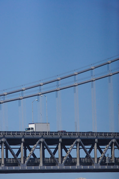 The Oakland Bay Bridge