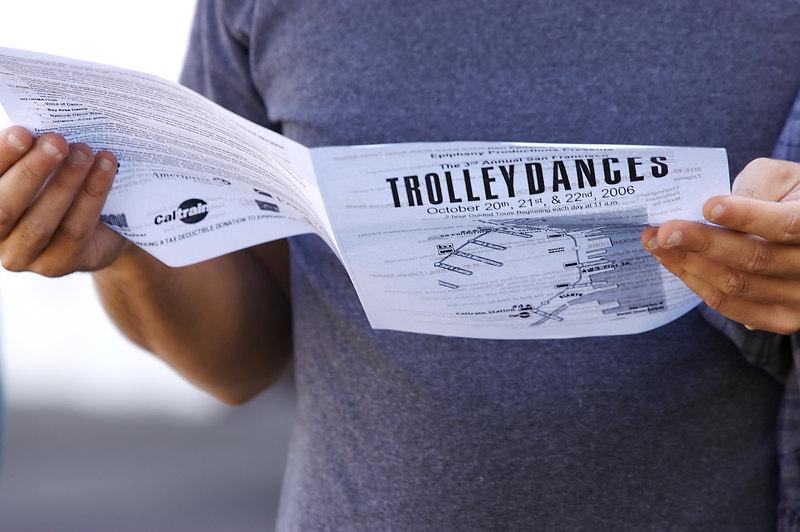The Trolley Dances program