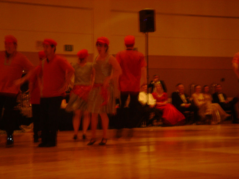 Decadance doing a Super Mario Bros dance.  Talk about incredible!