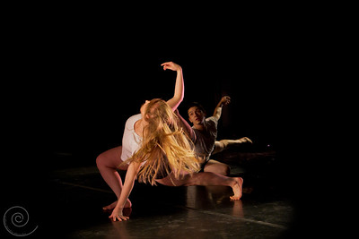 """The essence of pleasure is spontaneity"" - Germain Greer, Choreography - improvisation by each individual dancer structured by Aidrenne Richardson"