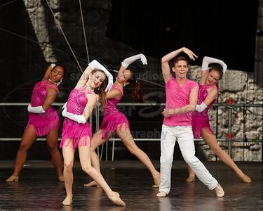 """Last Dance"" Allegro Ballet of Houston Corpus Christi Concert Ballet University of Texas Dance Repertory Theatre Staging: Ceasar F. Barajas"