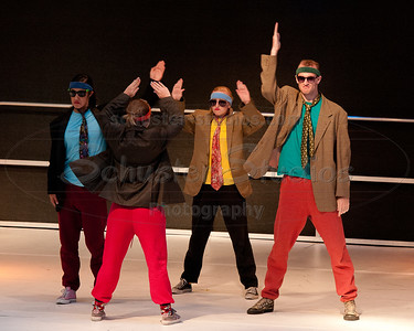 """High Five Jive"" University of Texas Dance Repertory Theatre Choreography: Marclaire Gamble, Lisa Kobdish"