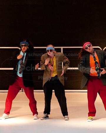 """High Five Jive"" University of Texas Dance Repertory Theatre Choreography: Marclaire Gamble, Lisa Kobdish"