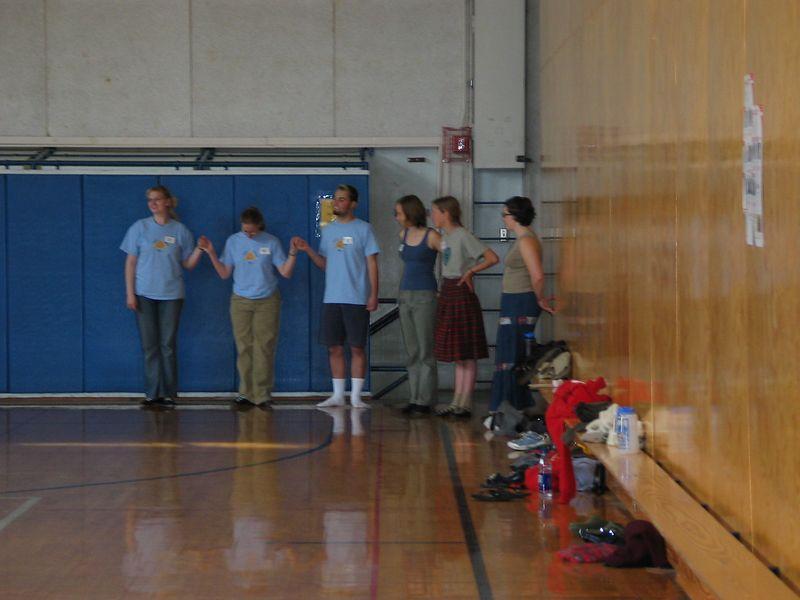 Intermediate class practicing skipchange