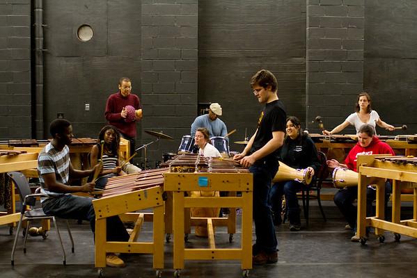 Zambezi rehearsal Spring 2010
