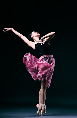 Jan. 5, 2020 - New York, NY   Dancer Zhong-Jing Fang , soloist at ABT in NY,  captured in studio  Photographer- Robert Altman Post-production- Robert Altman