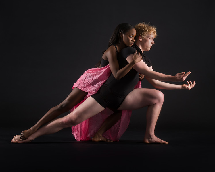 Dancers: Richard Kirschner and Judea Edwards, Joffrey Ballet