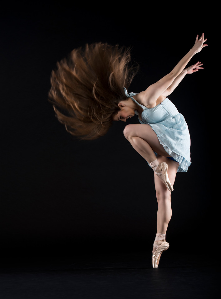 Dancer/Model: Hillary Porter, Makeup: Ximena Ocha