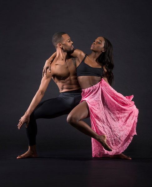 Dancers: Harold Trent Butler and Judea Edwards, Joffrey Ballet