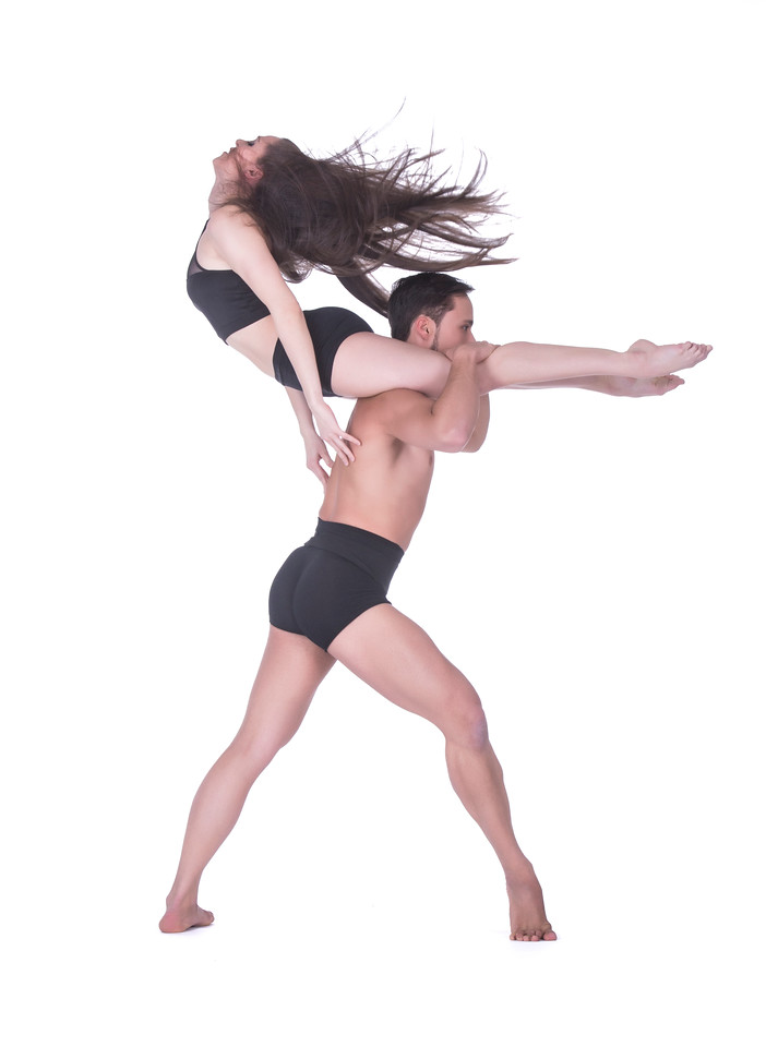 Dancers: Alessio Crognale and Maria Villa, Graham 2