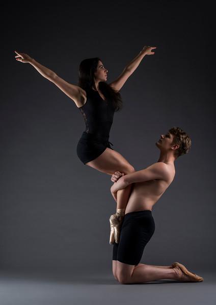Dancers: Taylor and Dafni