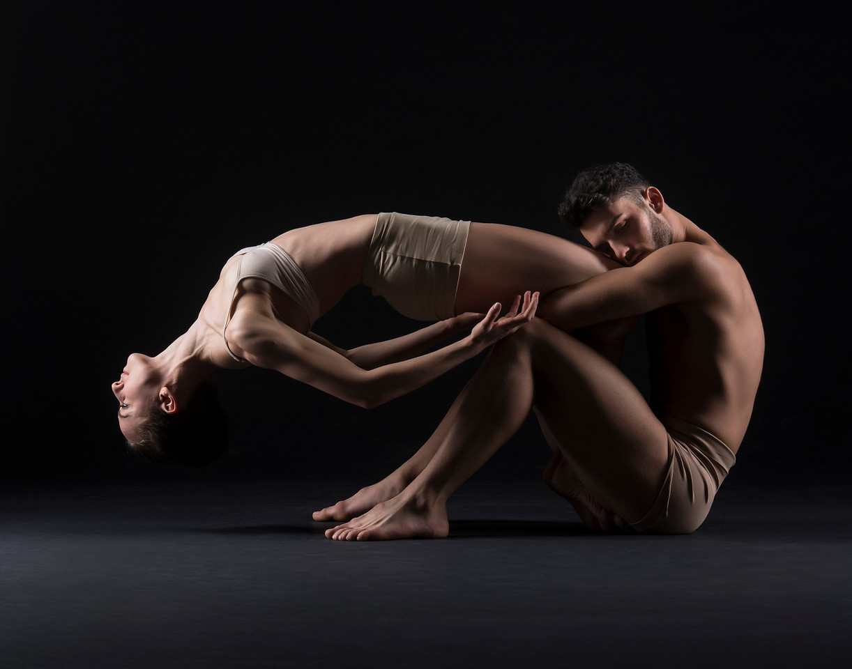 Dancers: Anne Souder and Antonio Cangiano, Martha Graham Dance Company