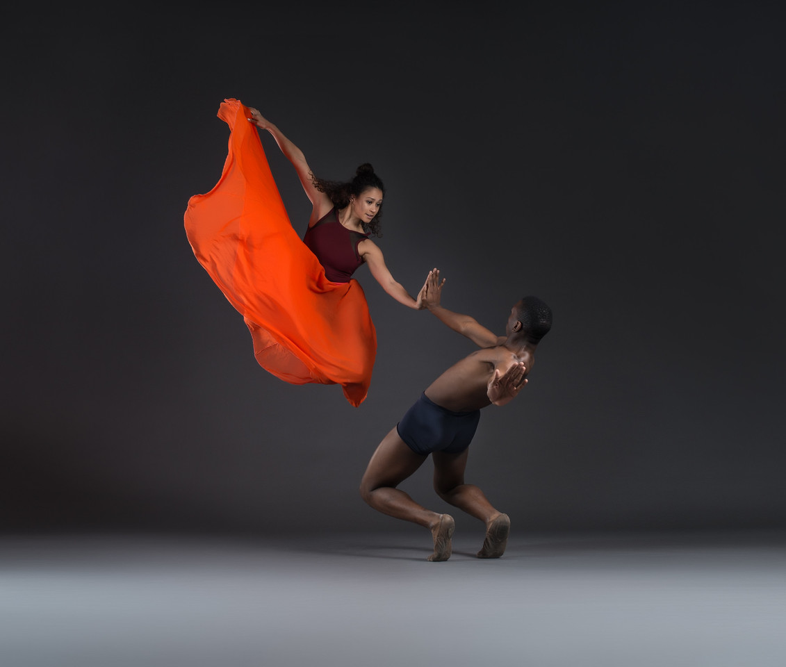 Alicia Holloway and Nicholas Rose, Dance Theater of Harlem