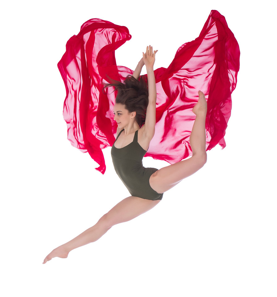 Dancer: Anne Souder, Martha Graham Dance Company