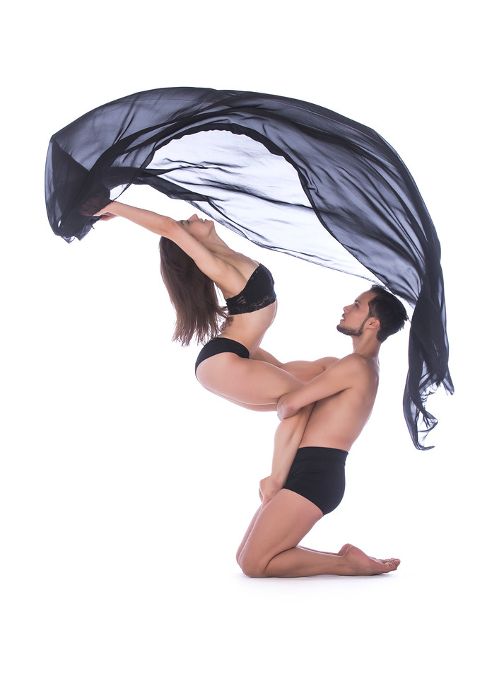 Dancers: Anne Souder and Alessio Crognale, Martha Graham Dance Company
