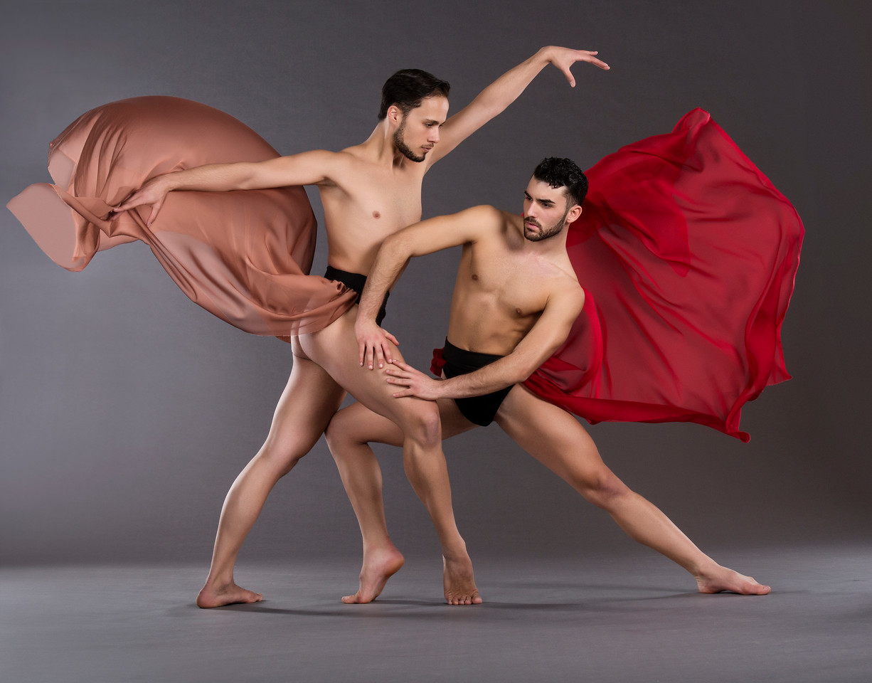 Dancers: Alessio Crognale and Antonio Cangiano, Martha Graham Dance Company