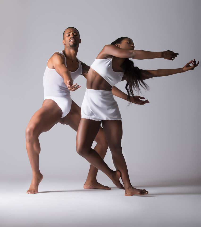Dancers: Harold Trent Butler and Judea Edwards, Joffrey Ballet