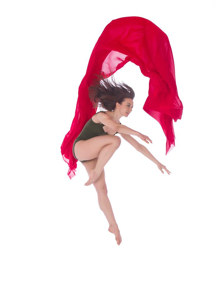 Dancer: Anne Souder, Martha Graham Dance Company