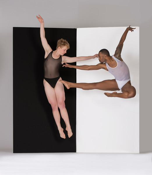 Dancers: Harold Trent Butler and Richard Kirschner, Joffrey Ballet