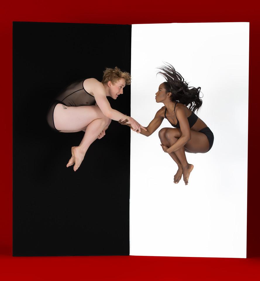 Dancers: Richard Kirschner and Judea Edwards, Joffrey Ballet