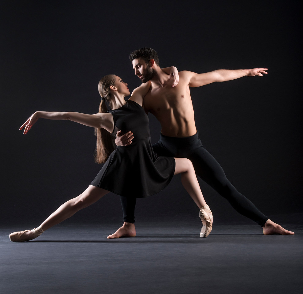Dancers:  Antonio Cangiano and Maria Villa, Graham 2