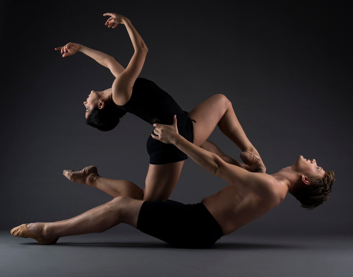 Dancers: Taylor and Dafni