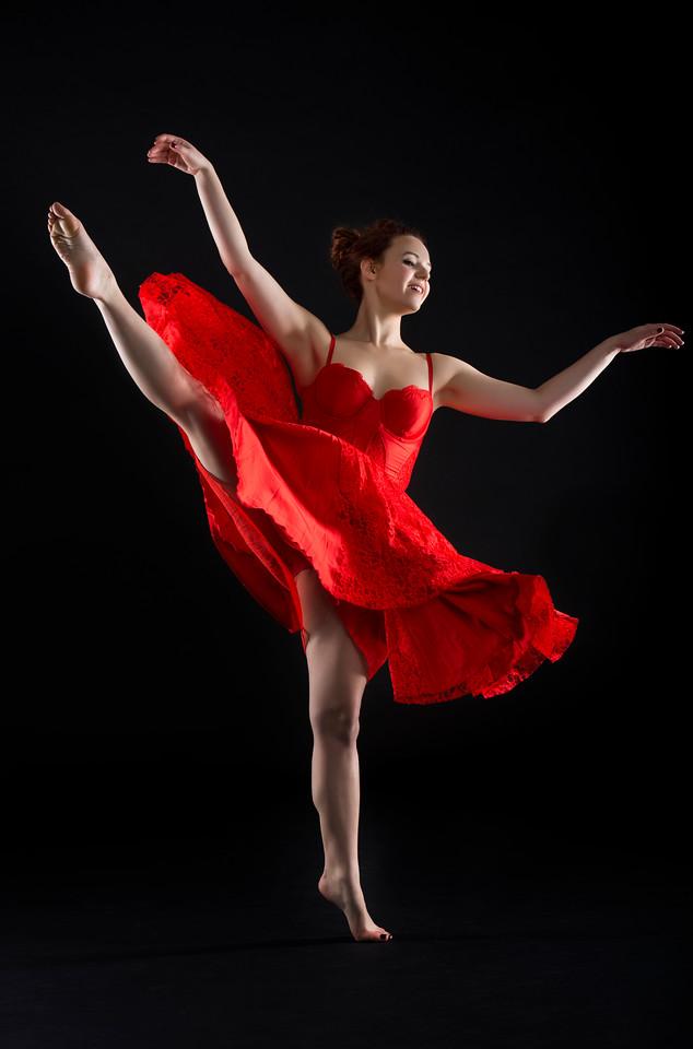 Dancer: Kristen Sandler, Makeup: Ximena Ocha
