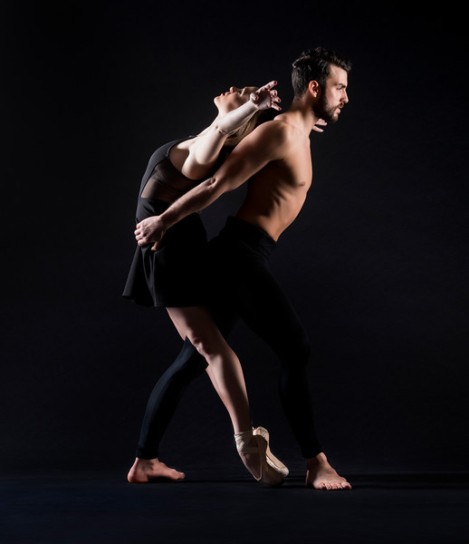 Dancers: Maria Vittoria Villa and Antonio Cangiano, Martha Graham Dance Company