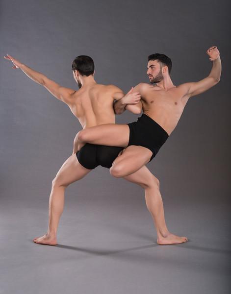 Dancers: Alessio Crognale and Antonio Cangiano, Graham 2