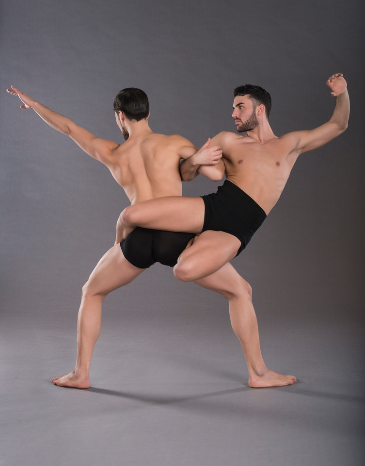 Dancers: Alessio Crognale and Antonio Cangiano, Graham 2