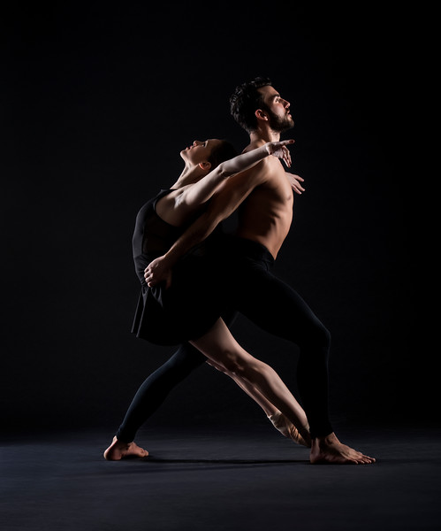 Dancers: Maria Vittoria Villa and Antonio Cangiano, Martha Graham Dance Company