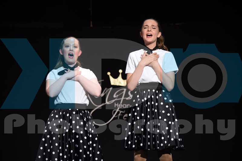 13-15 Vocal and 16+ Song & Dance Duet
